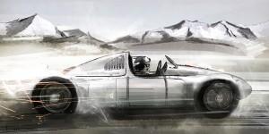 Moodboard Porsche Race Car
